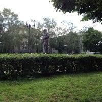 Photo taken at Памятник Л.Н. Толстому by Vadim M. on 6/16/2012