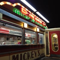 Photo taken at Mickey's Diner by Alexis M. on 3/7/2012