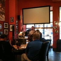 Photo taken at Michelangelo's Coffee & Wine Bar by Brian G. on 6/6/2012
