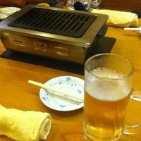 Photo taken at 焼肉大雅 by 長岡 恭. on 6/24/2012
