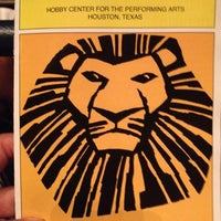 Photo taken at Hobby Center for the Performing Arts by Juan L. on 8/2/2012