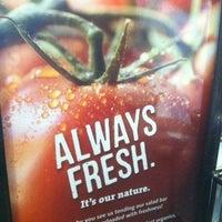 Photo taken at Jason's Deli by Chantha C. on 4/16/2012