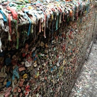 Photo taken at Gum Wall by Portia Magno L. on 3/18/2012