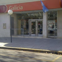 Photo taken at Banco Galicia by Demian B. on 7/20/2012