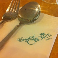 Photo taken at Crystal Crown Hotel by Helen wong on 7/1/2012