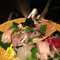 Photo taken at 魚もつ鍋 魚呑 うおどん 高円寺店 by Osamu F. on 5/25/2012
