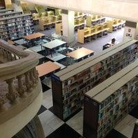 "Photo taken at Biblioteca - ""El Rey"" by Majo S. on 4/28/2012"