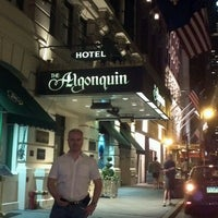 Photo taken at The Algonquin Hotel Times Square, Autograph Collection by Jana L. on 7/14/2012