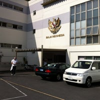 Photo taken at Sekolah Republik Indonesia Tokyo (東京インドネシア共和国学校) by Jack S. on 5/4/2012