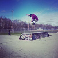 Photo taken at Charlottetown Skate Park by Louis G. on 5/6/2012