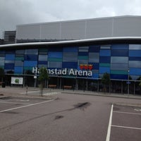 Photo taken at Halmstad Arena by Marie I. on 7/13/2012