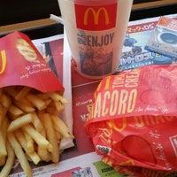 Photo taken at McDonald's by Aya F. on 12/4/2011