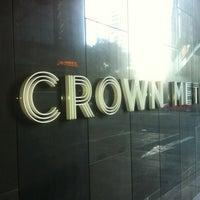 Photo taken at Crown Metropol Hotel by Dean P. on 7/21/2012