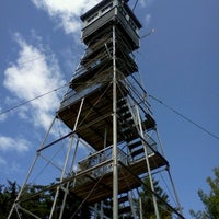 Photo taken at Green Mtn Fire Tower by Katie K. on 8/23/2011