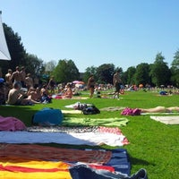 Photo taken at Freibad Hadenberg by Carlo S. on 8/19/2012