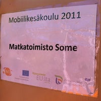 Photo taken at Matkatoimisto SoMe by Pauliina M. on 5/26/2011