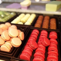 Photo taken at Ladurée Paris Bonaparte by Marco G. on 5/1/2012