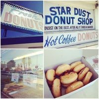 Photo taken at Stardust Donut Shop by Meredith C. on 7/26/2012