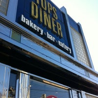 Photo taken at Tops Diner by John A. on 9/30/2011