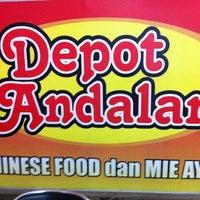 Photo taken at Depot Andalan by  COWOK CEWEK V. on 11/11/2011