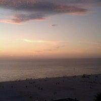 Photo taken at Sandpearl Resort by Johanna P. on 9/25/2011