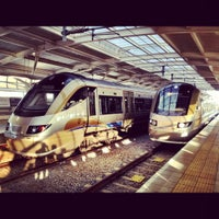 Photo taken at Gautrain OR Tambo International Airport Station by Devon B. on 7/5/2012