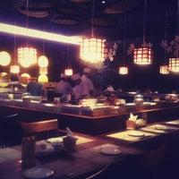 Photo taken at Kiyadon Sushi by theo p. on 7/17/2012