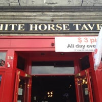 Photo taken at White Horse Tavern by Kylee W. on 8/12/2012