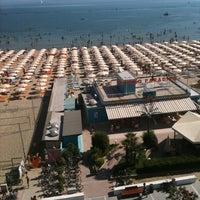 Photo taken at Bagno Paradiso 87 by Cristina B. on 8/26/2011