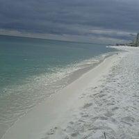 Photo taken at Destin Beach by Jon D. on 10/11/2011