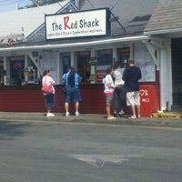 Photo taken at The Red Shack by Christopher T. on 8/21/2011
