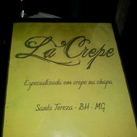 Photo taken at La Crepe by Thiago M. on 12/30/2011
