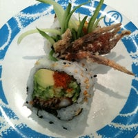 Photo taken at Sushi Roll by Adriana O. on 5/19/2011