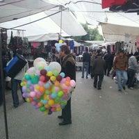 Photo taken at Şirinyalı Cumartesi Pazarı by ⓥⓞⓛⓚⓐⓝ 🎭 on 2/4/2012