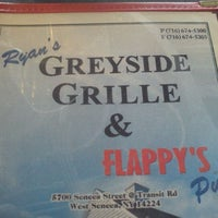 Photo taken at Ryan's Greyside Grille & Flappy's Pub by Bryan G. on 1/4/2012
