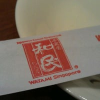 Photo taken at Watami Japanese Casual Restaurant by Wong H. on 4/19/2012