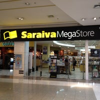 Photo taken at Saraiva MegaStore by Guga C. on 3/7/2012