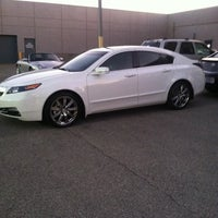 Photo taken at Jay Wolfe Acura by Chad L. on 10/4/2011