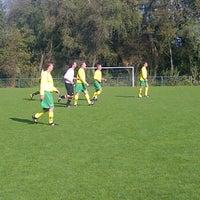 Photo taken at Rijnmond Hoogvliet Sport by Dennis d. on 10/22/2011