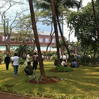 Photo taken at Taman BRI II by Jeffry G. on 8/24/2011