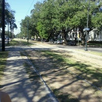 Photo taken at St. Charles Streetcar by Daniel T. on 10/17/2011