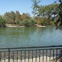 Photo taken at Laguna Parque de Los Reyes by Anita L. on 1/29/2012