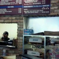 Photo taken at Brooklyn Water Bagel Co by Charlie Q. on 7/26/2012