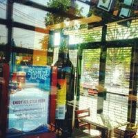 Photo taken at Knapp St Pizza by Tom C. on 7/7/2012