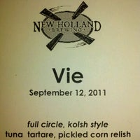 Photo taken at Vie Restaurant by Anthony N. on 9/13/2011