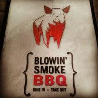 Photo taken at Blowin Smoke BBQ by Ryan B. on 9/10/2012