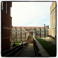 Photo taken at WVU Downtown Campus Library by Chad W. on 12/3/2011