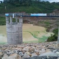 """Photo taken at Bendungan """"Gonggang"""" Poncol Magetan by Dui Han D. on 12/16/2011"""
