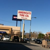 Photo taken at America's Tire Store by Rich N. on 3/3/2012