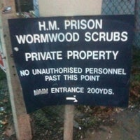 Photo taken at HMP Wormwood Scrubs by Anthony L. on 2/21/2011